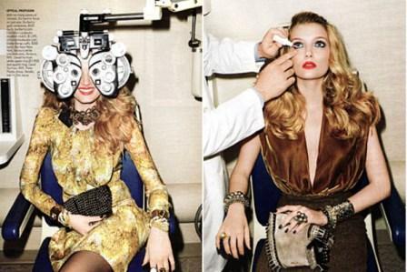 Najgore: - Vogue – Tešk oda možete obratiti pažnju na nakit, koliko na kapi za oči.