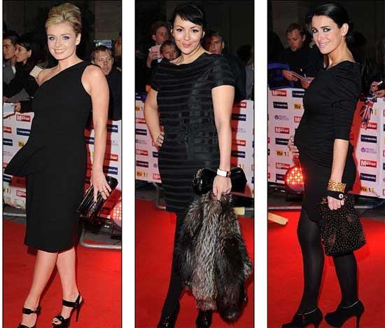 Katherine Jenkins, Martine McCutcheon i Kirsty Gallagher
