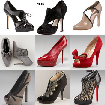 Cipele s visokim potpeticama