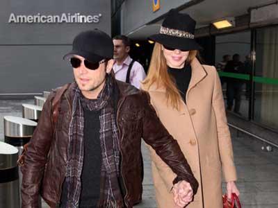 Nicole Kidman i Keith Urban, prosinac 2009.