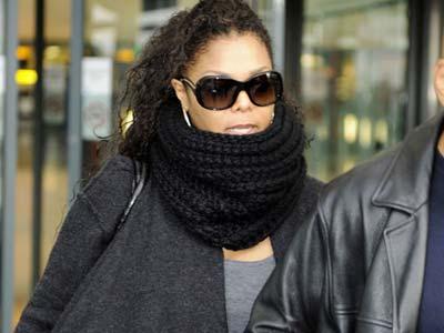 Janet Jackson, prosinac 2009.