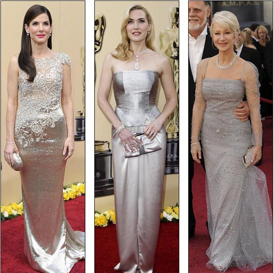 Sandra Bullock, Kate Winslet i  Helen Mirren