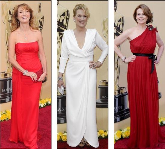 Jane Seymour, Meryl Streep i Sigourney Weaver