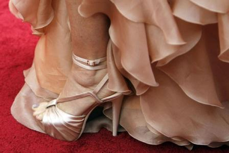 Satenske cipele Demi Moore