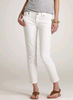Bijele traper hlače