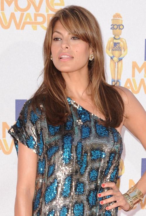 Najpopularnije frizure u 2010 - Eva Mendes