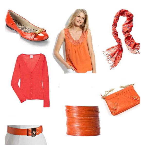 Narančastom osvježite zimsku garderobu