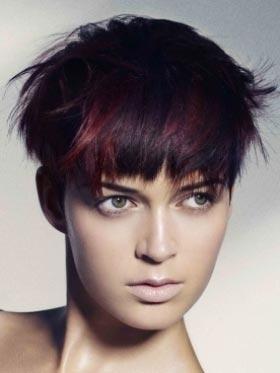 Glamurozne ideje za kratku kosu - kratka kosa frizure