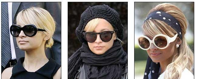 Nicole Richie ima oko 200 sunčanih naočala. Kakve su?