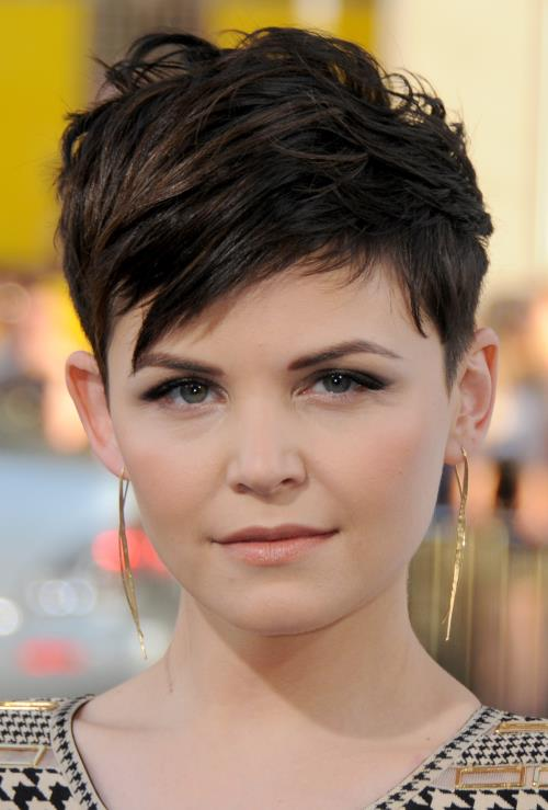 Cute Short Haircut For Round Face