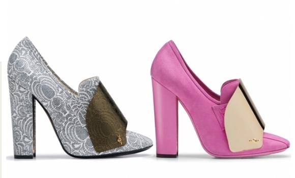 Yves Saint Laurent cipele za proljeće – ljeto 2012.