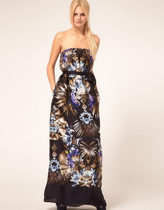 Moderne duge haljine za dan