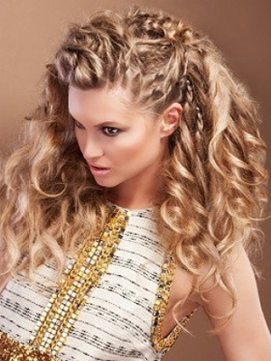Moderne frizure s pletenicama
