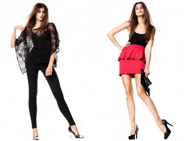 H&M novogodišnji look za zabave