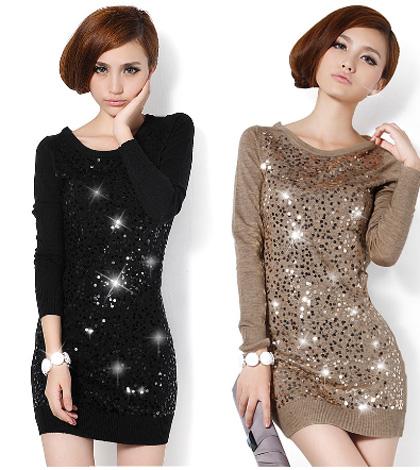 Moderne haljine za zimu