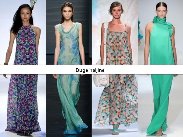 Top trendovi s modnih pista za proljeće 2013.