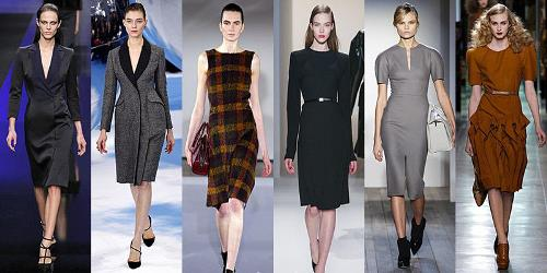 Elie Saab, Christian Dior, Jil Sander, Calvin Klein Collection, Victoria Beckham, Bottega Veneta