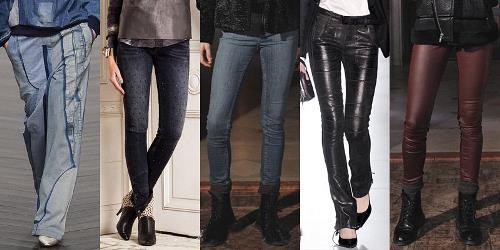 Moderne ženske traperice za jesen-zimu 2013/2014.