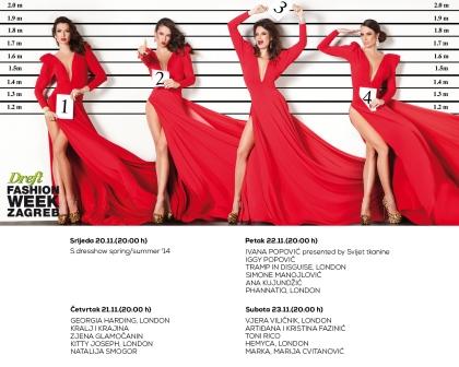 Sve je spremno za Dreft Fashion Weeka Zagreb koji se održava sljedeći tjedan