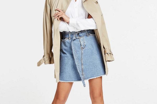 Kako nositi traper suknju ovog ljeta
