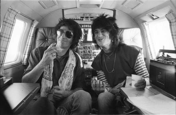 Keith Richards i Ron Wood