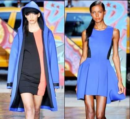 Značenje moderne blistavo plave boje