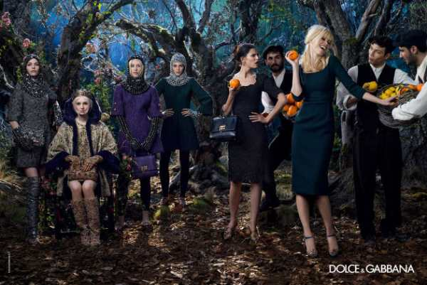 moda-Dolce & Gabbana -jesen-2014-1