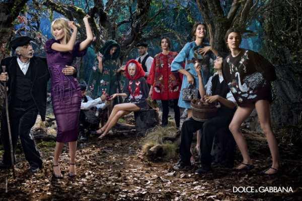 moda-Dolce & Gabbana -jesen-2014-2