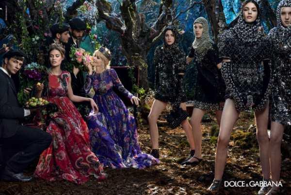 moda-Dolce & Gabbana -jesen-2014-3