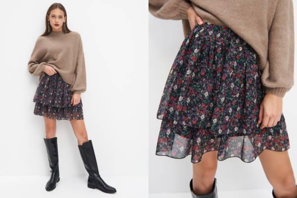 Kako nositi cvjetni uzorak zimi