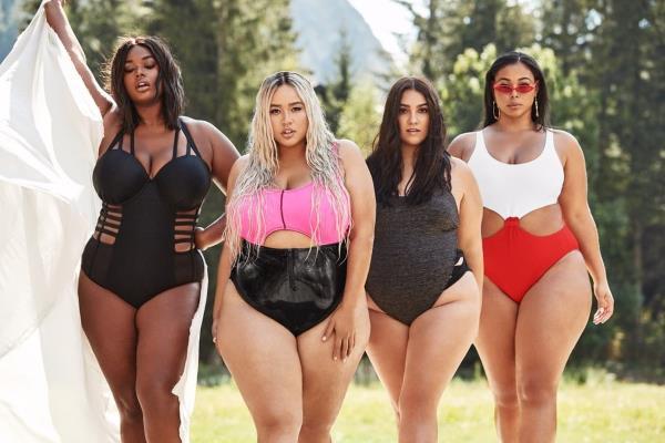 Moderni kupaći kostimi za punije žene