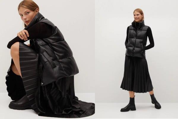 Kako nositi široku suknju