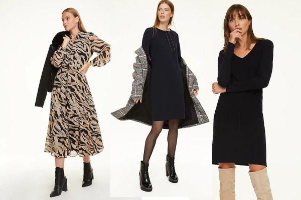 Moderne dnevne haljine za žene preko 50 godina