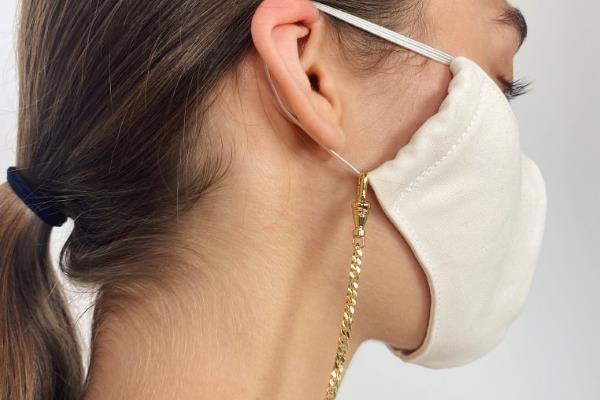 Novi hit modni dodaci - lančići za maske